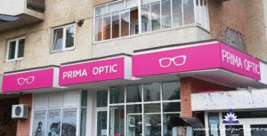 Firme exterioara cu litere aplicate Prima Optic Botosani
