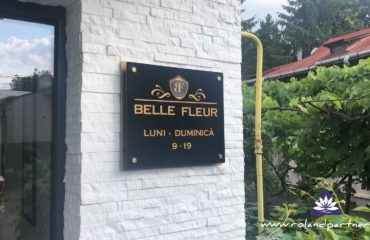 Program din bond cu litere plicate si dintantiere - Belle Fleur Botosani
